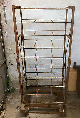 Vintage cooling bakery/bread trolley cage, bakers.....