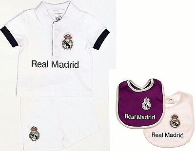 Real Madrid Fc 17 Babies T Shirt Shorts Set Kit Baby Short Sleeve Pram Suit Rmcf