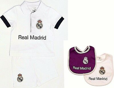 Real Madrid Fc Babies T Shirt Shorts Set Kit Baby Short Sleeve Pram Suit  Rmcf df3ad3ea2