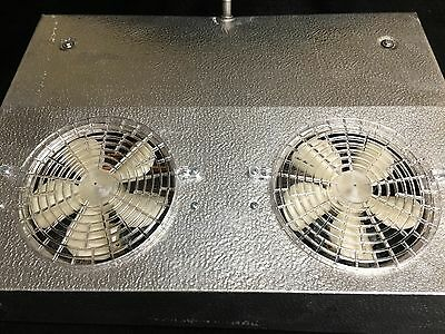 Peerless LS-135 Evaporator Blower Lo-Slope Reach-In CoolerThin Profile Dual Fans