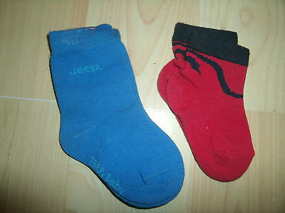 2 Pairs Booty Socks Jeep/and Unknown Uk Size 0--3 Months Pink Ankle/sock  Type