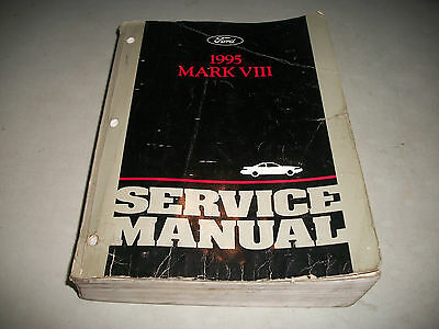 Official 1995 Lincoln Mark Vii 7 Shop Repair Service Manual Cmystore4More