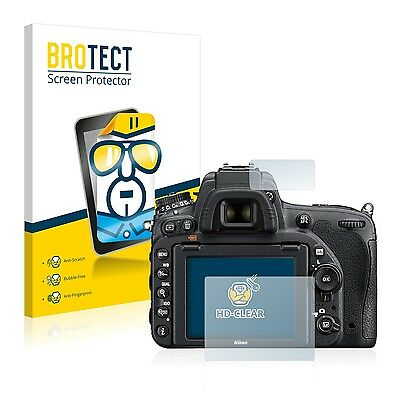 2x BROTECT Screen Protector for Nikon D750 Protection Film