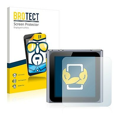 2x BROTECT Screen Protector for Apple iPod nano 6th generation (2011) Protection