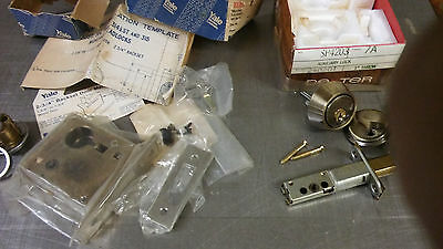 Vintage Dexter Lock and Yale Auxiliary Lock