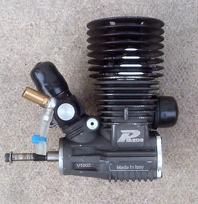 REDS ZR21T 7 port .21 Nitro Engine Tuned Motor by Mario Rossi 1/8th GT Road Car