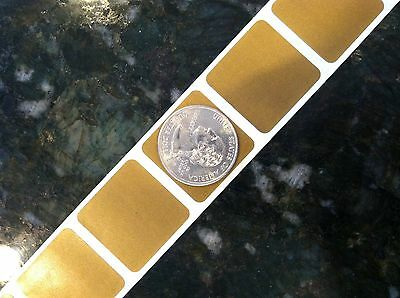 """500 Silver HOLOGRAM Scratch off 1/"""" SQUARE stickers label games favor promotional"""
