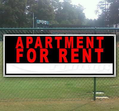 APARTMENT FOR RENT Advertising Vinyl Banner Flag Sign Many Sizes Available USA