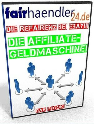 DIE AFFILIATE GELDMASCHINE eBook GEWINN STEIGERN Marketing Online Rezept NEU PLR