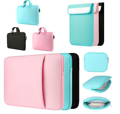 "Laptop Notebook Sleeve Case Bag Cover For MacBook Air/Pro 11/13/15 inch 15.6"" PC"