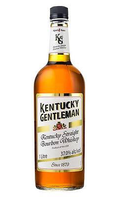 Kentucky Gentleman American Bourbon Whiskey 1 Litre