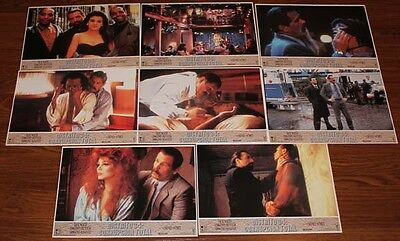 Nick Nolte Q & A lobby card set 8 Timothy Hutton Armande Assante