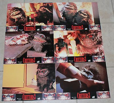 Kristine Peterson horror lobby card set 6 Critters 3 Aimee Brooks