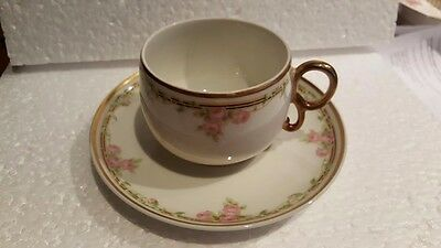 Bawo and Dotter   Limoges  Elite Works   BWD114  Cup and Saucer