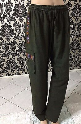 Nepalese 100% Cotton Boho Pants Summer Hippie trousers