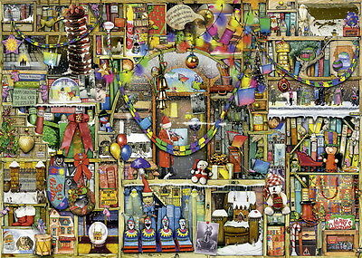 Ravensburger 1000pc Christmas Cupboard Puzzle- Thompson Brand New Free Shipping