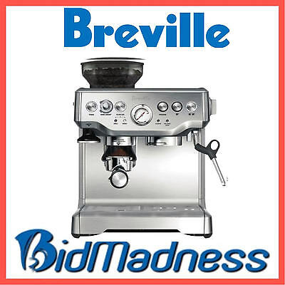 BREVILLE BES870BSS the BARISTA EXPRESS™ COFFEE MACHINE  2 LITRE    2 YRS WNTY