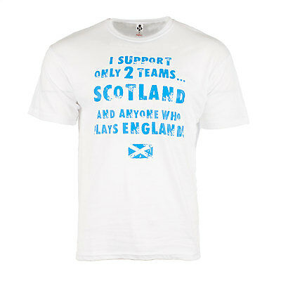 Heritage of Scotland Men's I Support Only 2 Teams T-Shirt
