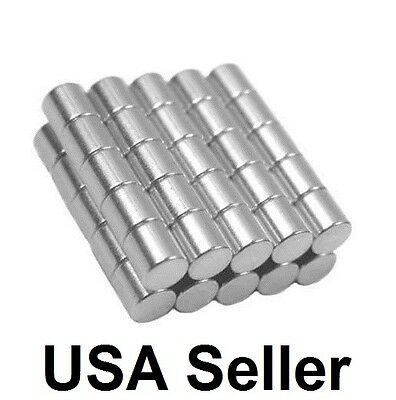 1/2 x 1/2 Inch Strong Neodymium Rare Earth Cylinder Magnets N48 Wholesale