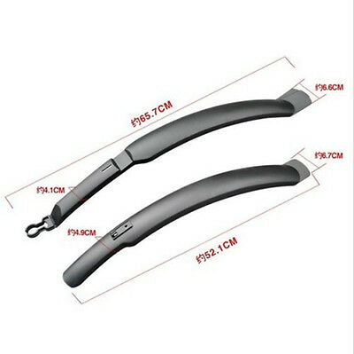 Mud Guard Rear Fenders High Quality Cycling Road Bicycle Front Set Mudguards JR