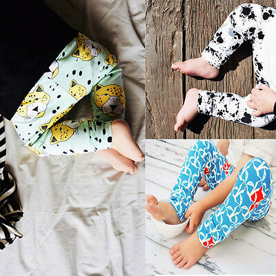 Newborn Baby Boy Girl Long Harem Pants Casual Trousers Leggings Clothes 0-24M UK