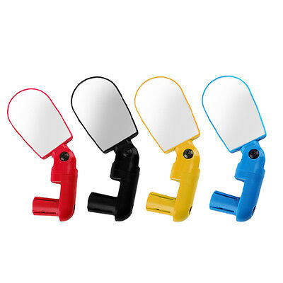 Rotate Safe Mountain Bike Motorcycle Reflective Mirror Rearview Handlebar BS