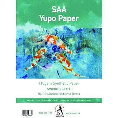 Yupo Painting Paper 25 loose sheets A4 110gsm 296 x 210mm