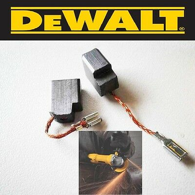 Dewalt Grinder Motor Brush Set (2) 650916-01 D28402  D28 000  6.35x10x13mm