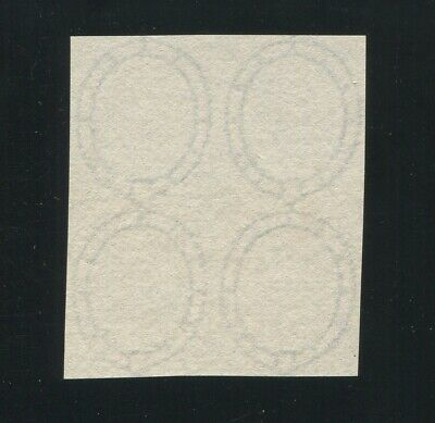 Great Britain Surface Printed 1857 Large Garter Watermark Paper