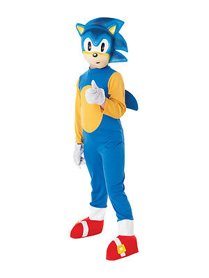 Child Ages 5-6 Years Licensed Sonic The Hedgehog Party Fancy Dress Costume Kids