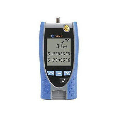 IDEAL Networks R158000 VDV II Basic NW/Phone/Coax Cable Tester