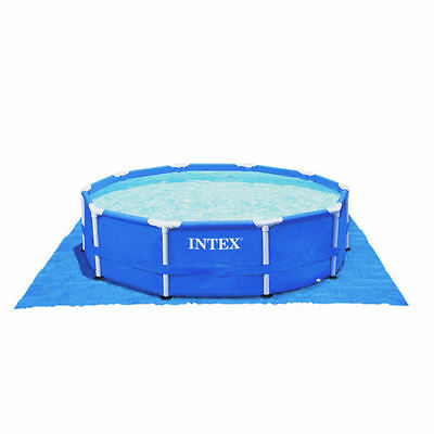 Intex 15.5ft x 15.5ft Ground Cloth Above Ground Swimming Pool Ground Sheet Cover