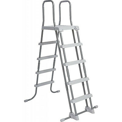 "Intex Swimming Pool Ladder + Removable Steps For Wall Heights 52"" 28074"