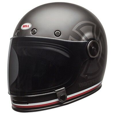 Bell Bullitt Special Edition Independent Black Full Face Motorcycle Helmet Large