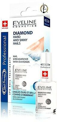 EVELINE Diamond Hard and Shiny Nails Nail Strenghtener  Professional therapy 12m
