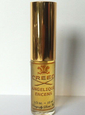 Angelique Encens  Creed EDT -Private Collection Miniature 10ml Extremely Rare !