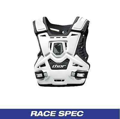 Thor Sentinel Motocross Adult Body Armour Protection - White - New