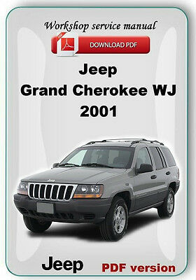 Jeep Grand Cherokee WJ (2001) Workshop Service Repair Manual