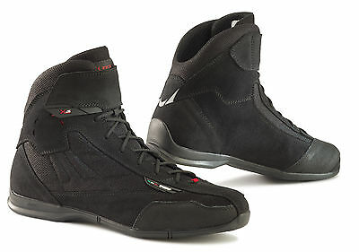 TCX Mens X-Square Plus Black Street Motorcycle Boots Shoes