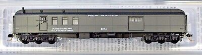 N Scale - MICRO-TRAINS 148 00 100 NEW HAVEN 70' Heavyweight Mail Baggage Car
