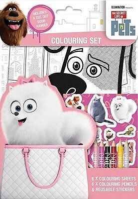 The Secret Life of Pets Colouring Set