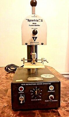 SPARKIE 2 Mini Fusion Welder With New Cord & Lots of Extra's (Working) Vintage