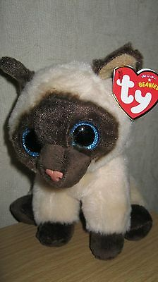 Ty Beanies - Jaden The Siamese Cat- New With Ty Tags - Genuine Product