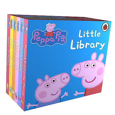 Peppa Pig Little Library - Books by Ladybird (Board Book, 2009)
