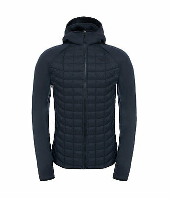 The North Face Men's UPHOLDER THERMOBALL Warm Hybrid Hoodie Jacket Black Stria M