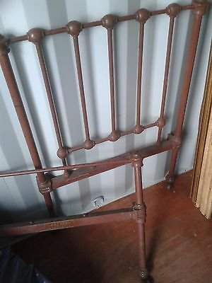 Victorian Cast Iron Single Nunnery Bed(Make An Offer)