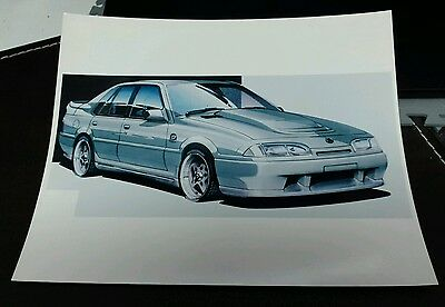 TWR Concept Design Picture Holden Commodore SS Group A SV Artwork