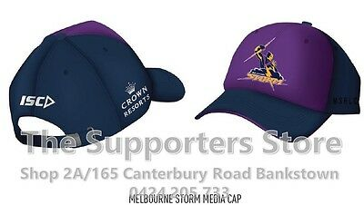 Melbourne Storm NRL 2017 Players ISC Media Cap! IN STOCK NOW!