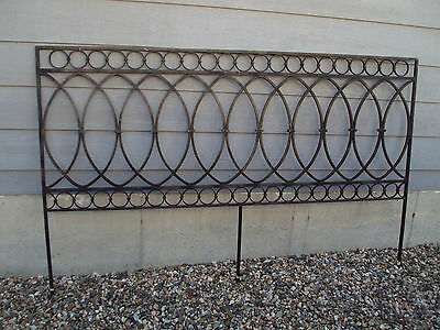 Iron  Architectural Salvage Handrail Headboard Colorado General Hospital