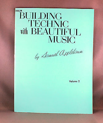 Building Technic with Beautiful Music Violin Volume 2 - Brand New